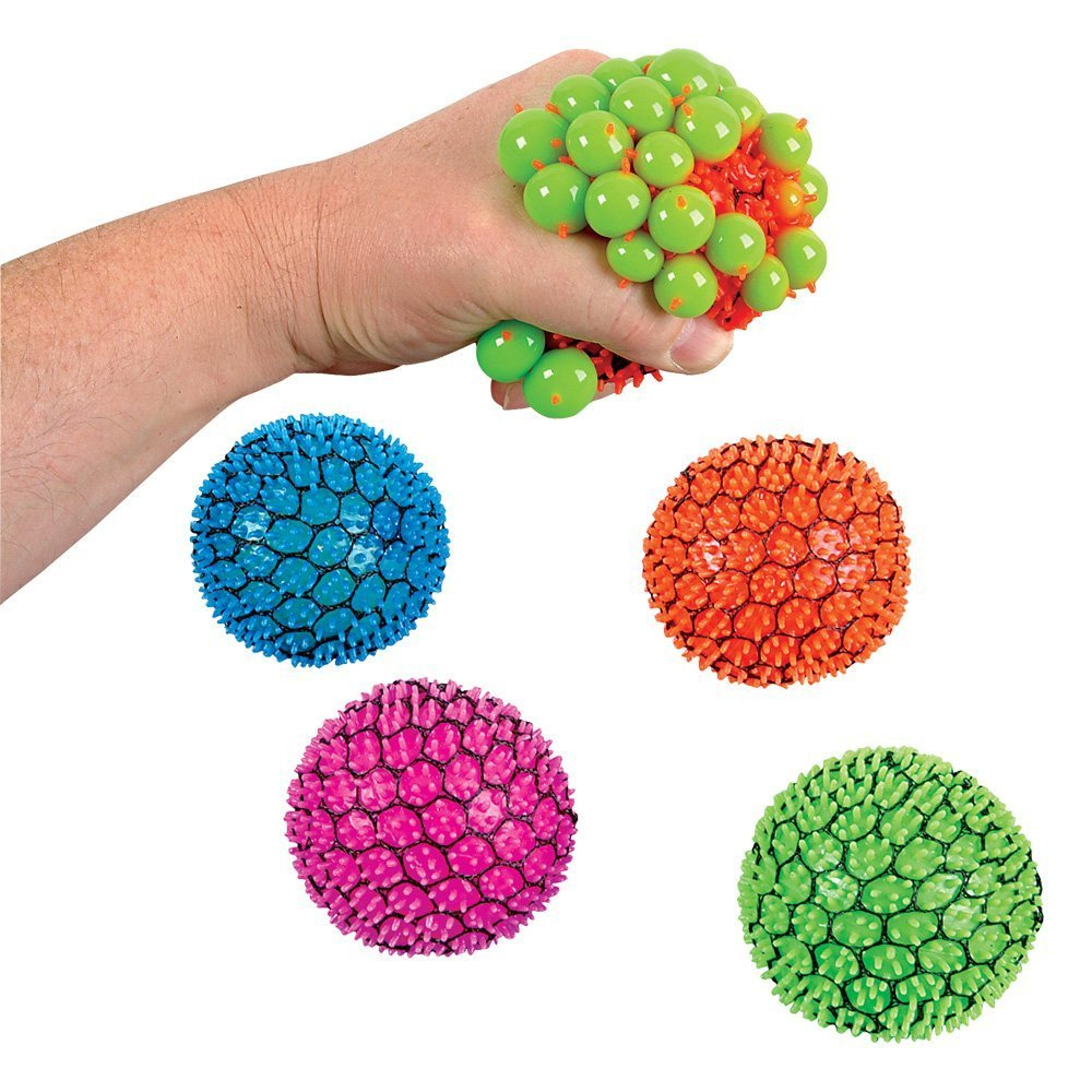 Squishy Ball In Mesh : Mesh Squishy Ball - ToysOXO - Wholesale and Retail Toys & Games Fidget Spinners Fidget Toys ...