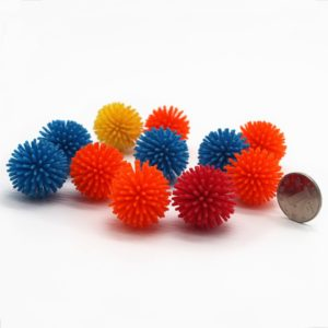 Mini Soft Viny Multicolor Porcupine Balls