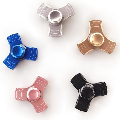 Wholesale Metal Fid Tri Spinner EDC Hand Spinner Fast Shipping