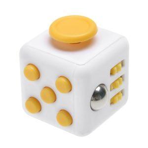 Yellow fidget cube - wholesale fidget cube, bulk fidget cubes, wholesale fidget toys, cheap fidget cube amazon, fidget cube cheapest, cheap fidget cubes, fidget toys in bulk